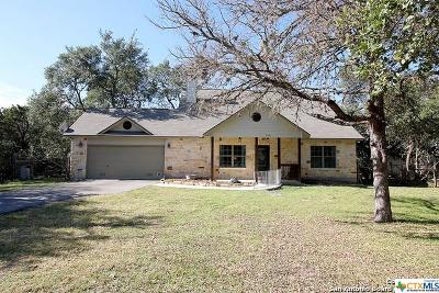 Spring Branch Single Family Home For Sale: 555 Guadalupe Drive
