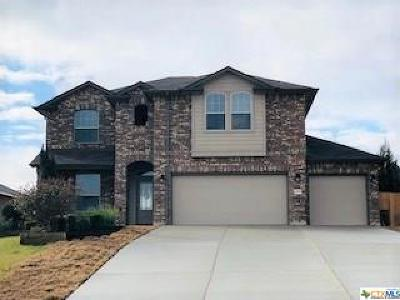 Copperas Cove Single Family Home For Sale: 1405 Lubbock Dr Drive