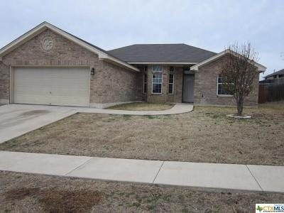Killeen Single Family Home For Sale: 1407 Trailboss Drive
