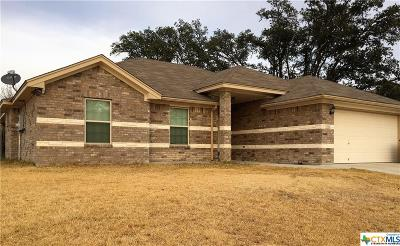 Copperas Cove Single Family Home For Sale: 3518 Dalton Street
