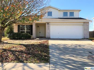 Temple Single Family Home For Sale: 5210 Whistle Stop Drive