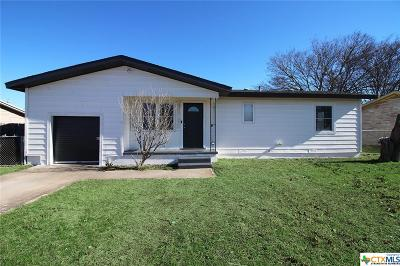 Copperas Cove Single Family Home For Sale: 101 Easy Street