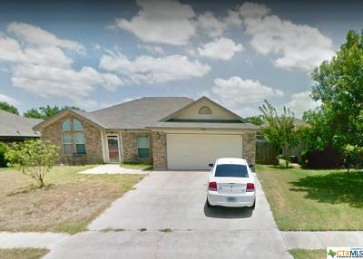 Killeen Single Family Home For Sale: 4300 Jake Spoon