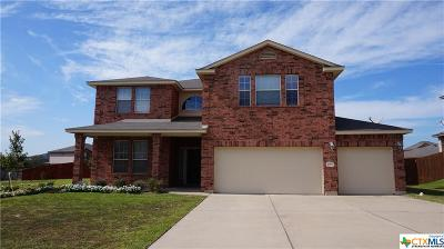 Copperas Cove Single Family Home For Sale: 2001 Ryan Drive