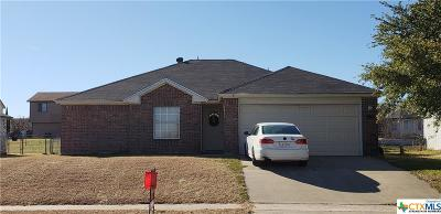 Killeen Single Family Home For Sale: 5007 Paragon