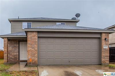 Killeen Single Family Home For Sale: 5506 Capricorn