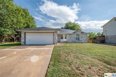 Killeen Single Family Home For Sale: 405 Suzie