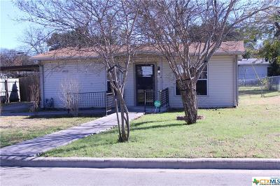 Killeen Single Family Home For Sale: 822 Southside