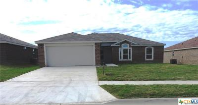 Killeen Single Family Home For Sale: 4406 Jim Foley Drive