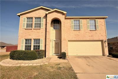 Killeen Single Family Home For Sale: 4107 Ambrose Drive
