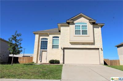 Killeen Single Family Home For Sale: 2907 Black Orchid