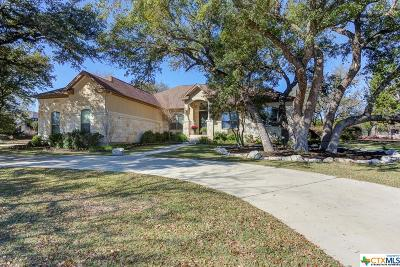 New Braunfels Single Family Home For Sale: 2665 Red Bud Way