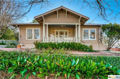New Braunfels Single Family Home For Sale: 318 Clemens Avenue