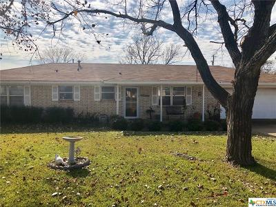 Gatesville TX Single Family Home For Sale: $125,000