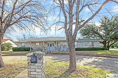 Harker Heights Single Family Home For Sale: 701 S Roy Reynolds