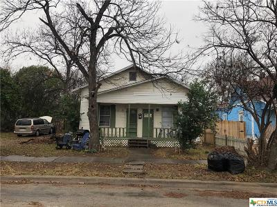 Temple, Belton Single Family Home For Sale: 10 N 12th