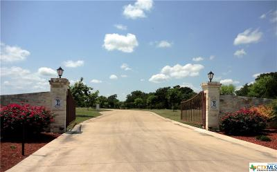 Belton Residential Lots & Land For Sale: Tbd Via Lago