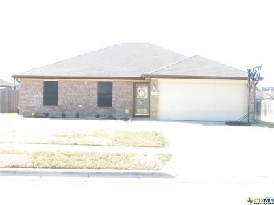 Copperas Cove TX Single Family Home For Sale: $134,500