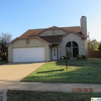 Copperas Cove  Single Family Home For Sale