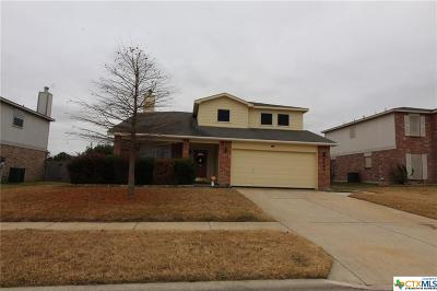 Killeen TX Single Family Home For Sale: $165,000