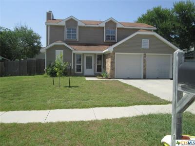 Killeen TX Single Family Home For Sale: $90,000