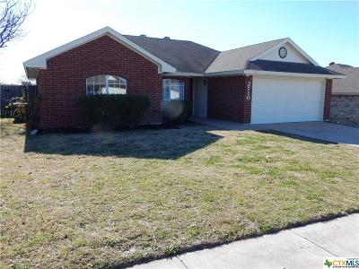 Killeen TX Single Family Home For Sale: $118,747