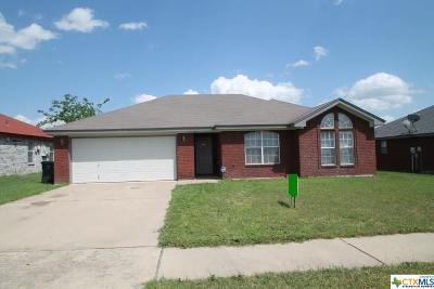 Killeen Single Family Home For Sale: 3012 Levy Lane