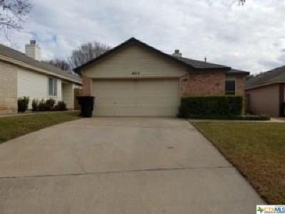 Temple Single Family Home For Sale: 4713 Ridge Way