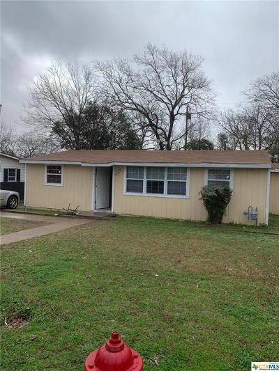 Killeen TX Single Family Home For Sale: $50,000