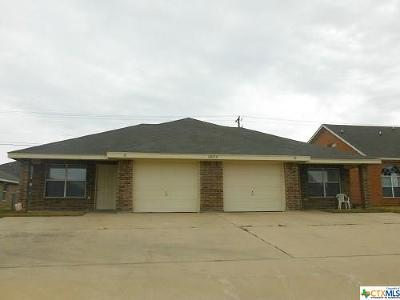 Killeen TX Multi Family Home For Sale: $179,500