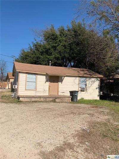 Killeen TX Single Family Home For Sale: $80,000