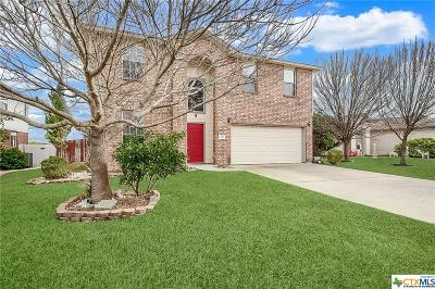 Harker Heights Single Family Home For Sale: 3040 Rain Dance