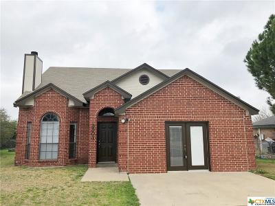 Killeen Single Family Home For Sale: 3503 Rainforest Lane
