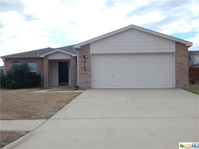 Killeen Single Family Home For Sale: 4102 Ambrose