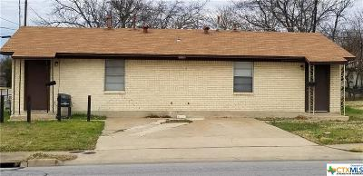 Killeen Multi Family Home For Sale: 1601 No. W S Young Drive