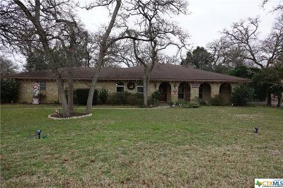 Milam County Single Family Home For Sale: 1703 Yokley Road