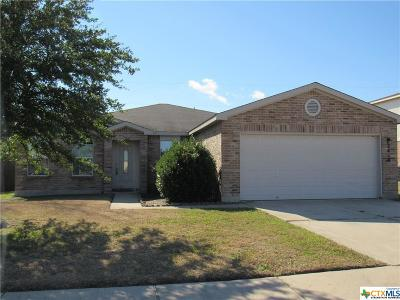 Killeen Single Family Home For Sale: 2410 Riley Drive