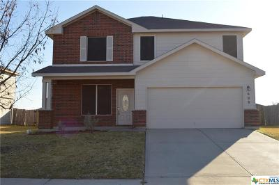 Killeen Single Family Home For Sale: 608 Taurus Drive
