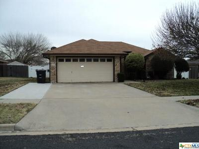 Killeen Single Family Home For Sale: 4408 Frontier Trail