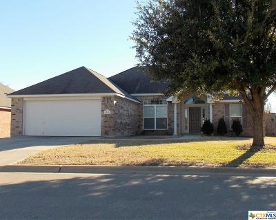 Temple TX Single Family Home For Sale: $164,500