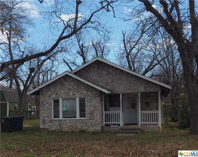 New Braunfels TX Single Family Home For Sale: $123,500