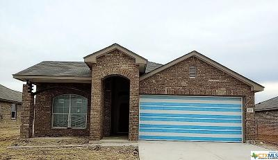 Killeen Single Family Home For Sale: 112 Ken