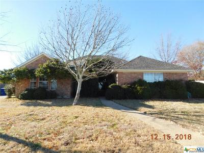 Copperas Cove Single Family Home For Sale: 513 Skyline