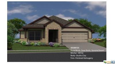 Copperas Cove Single Family Home For Sale: 2311 Pintail Loop