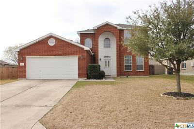 Harker Heights Single Family Home For Sale: 1005 Mustang