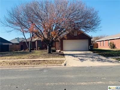 Killeen Single Family Home For Sale: 5007 Chad Drive