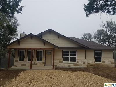 Canyon Lake TX Single Family Home For Sale: $176,900