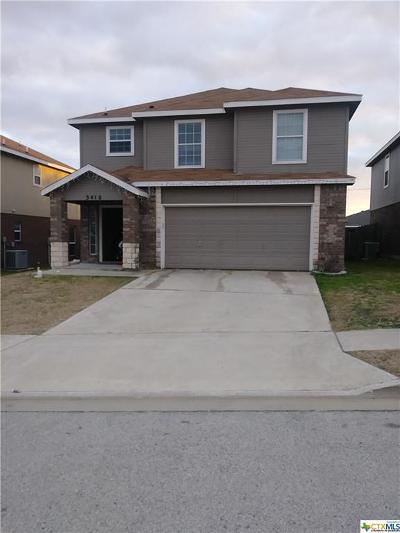 Killeen TX Single Family Home For Sale: $135,000