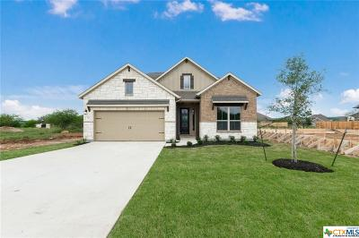 San Marcos Single Family Home For Sale: 124 Tulip Garden Trail
