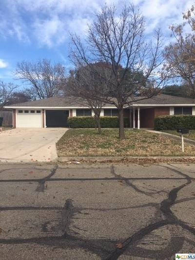 Temple Single Family Home For Sale: 3406 Deer